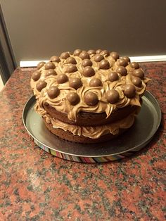 Mary Berry malteaser cake, very yummy!