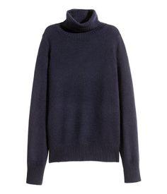 H&M cashmere turtleneck sweater $99 --> $40 --> $24