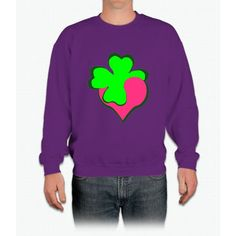 Shamrock Clover St Patrick's Day- saint patrick day shirts Crewneck Sweatshirt