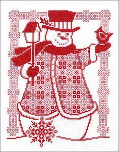 Cross Stitch Craze: Redwork Cross Stitch Patterns and Kits