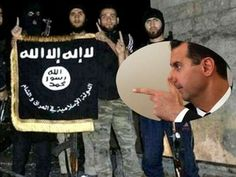 """الحرب في سوريا لإطالة نظام الأسد واستيلاء""""داعش"""" على الأراضي الأقل حماية"""