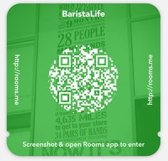 """Facebook released a new iPhone app """"Rooms"""" that allows users to create anonymous chat rooms, & doesn't require a Facebook account to join. So we created a chatroom for #BaristaLife To join the room, screenshot this image, open the Rooms App (search in App Store, it's free) & click """"use invite."""" Then you can chat with baristas from around the world Share your stories, pictures, videos, or ask questions and submit your pictures to be featured here. We are testing a bunch of new ideas, so let…"""