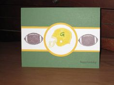 Just Football Stampin Up