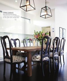 How To Mix And Match Dining Room Chairs