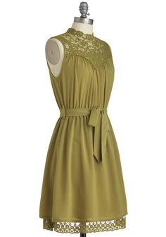 I wish this were longer & in varied shades of pink.   Kiwi to Success Dress