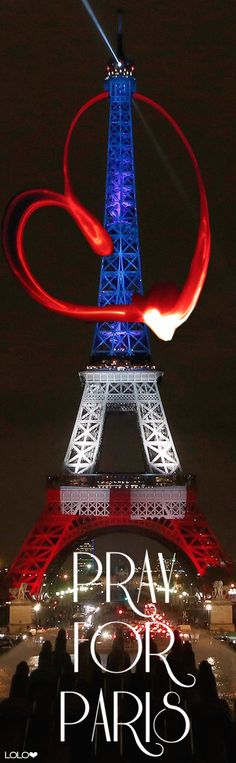 Did you know that after the bombings the Eiffel tower was not even lit up? except for in times of grieving :( Pray for Paris ❤︎ Tour Eiffel, Paris Eiffel Tower, Eiffel Towers, Pray For Paris, Beautiful Paris, I Love Paris, Gustave Eiffel, Belle France, Paris City