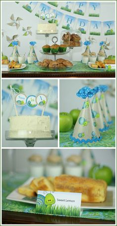 """Cute """"Snakes & Snails"""" baby boy party with adult classy-ness. Birthday Party Snacks, Adult Birthday Party, Baby Boy Birthday, Birthday Dinners, Baby Party, Happy Birthday, Birthday Cards For Him, Birthday Gifts For Teens, Birthday Ideas"""