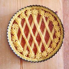 Baking Recipes, Cookie Recipes, Dessert Recipes, Creative Pie Crust, Beautiful Pie Crusts, Pie Crust Designs, Just Pies, Pastry Design, Valentine Desserts