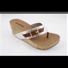 Silver For Soda Shoes Sandals
