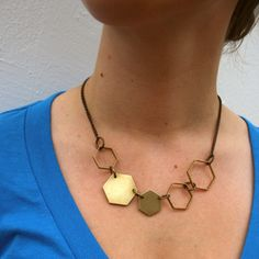 PH Hexagons Necklace now featured on Fab.