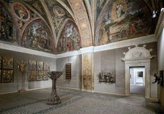 Hall of the Sibyls in the Borgia Apartment. Alfonso of Aragon (1481–1500) was murdered in this room.