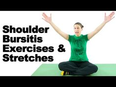 Shoulder Bursitis Exercises & Stretches - Ask Doctor Jo - YouTube