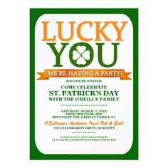 printable st patrick s day invite party invitations free