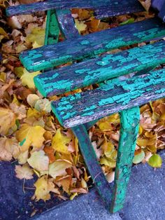 5x7 Fall Park Bench Fine Art Print by SnappyChic on Etsy, $12.00