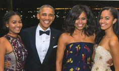 Obamas Send Out Their Last Christmas Card From The White House. The girls look gorgeous! They will be missed:(
