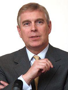 HRH Prince Andrew Albert Christian Edward, Duke of York, KG, second son of the Queen