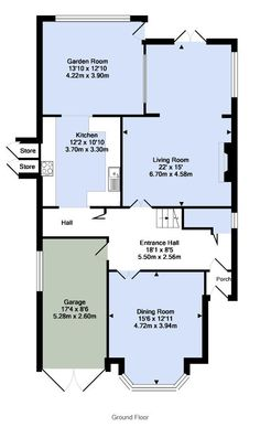 UK's number one property website for properties for sale and to rent Room Store, Entrance Hall, Property For Sale, Floor Plans, Flooring, How To Plan, Park, House, Entry Hall