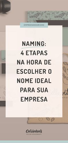 Naming: como escolher o nome ideal para sua pequena empresa