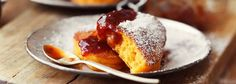 Pumpkin Pancakes - The issue of Taste Crepes And Waffles, Pumpkin Pancakes, Polish Recipes, No Bake Treats, Pumpkin Spice Latte, Something Sweet, Food Inspiration, Catering, Sweet Treats