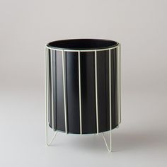 Wire Framed Trash Bin