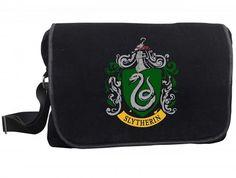 Harry Potter Slytherin Logo Messenger Bag