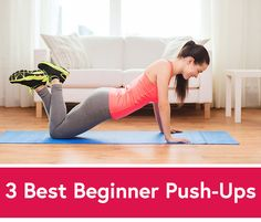 Can't Do a Push-Up? Here's Where to Start (via @Daily Burn)
