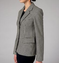 Claire Shaeffer's Custom Couture Collection for Vogue Patterns. Tailored jacket pattern V9099, Misses' Jacket