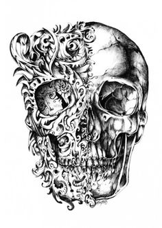 Rene Campbell Cool drawing - would LOVE this as a tattoo!