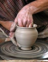 my own pottery wheel.