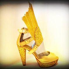 Raios Samba Sandals Platform Heels 13 cm