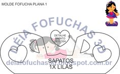 Molde Fofucha Plana