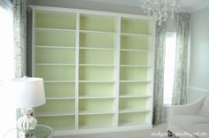 IKEA Hackers: Billy Built-in Bookshelves
