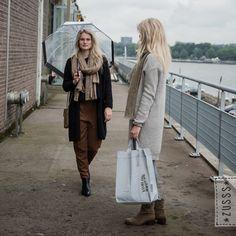 Zusss | Warm gebreide sjaal roestmelee | http://www.zusss.nl/product/zusss-warme-gebreide-sjaal-roest-melee/