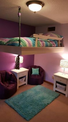 54 Cool Ideas For Decorating a Bedroom Your Kids Will Love | Justaddblog.com #bedroom #bedroomdecor #bedroomdesign