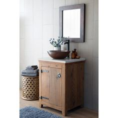 "Native Trails, Inc. Americana 26"" Vanity Set"