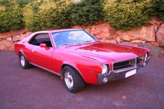 1969 AMC Javlin. The Javelin and AMX  were imported into Australia in CKD (Completely Knocked Down) kit form and assembled locally by Australian Motor Industries, in right hand drive form. They were imported in very limited numbers (under 300 between '68 & '72) and are one of Australia's rarest muscle cars. Sold as Ramblers they were the only American muscle cars of that era to be sold new in Australia. They cost approx. twice as much as the local Holden 327/350 Monaro's & 302/351 Falcon…