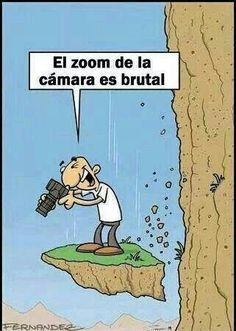 chiste grafico vaya zoom :) Spanish humor is the best way to learn Spanish language!  #Spanish #learning #humor Repin for later!