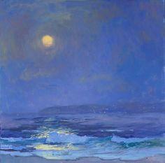 """""""Moonbeams"""" by S. Burkett Kaiser."""