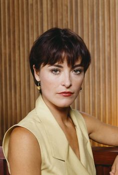First Lesbian TV Kiss - 1991 - L.A. Law - When CJ Lamb (Amanda Donohoe) kissed fellow lawyer Abby Perkins (Michele Greene) in a 1991 episode of the popular series LA Law, it sent shockwaves through the television viewing audience.