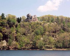 Gillette Castle....Connecticut - our view from the boat.