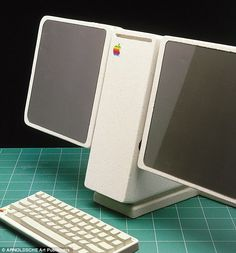 Apple: Computer prototypes from the early 1980s which were the forerunners of today's iPads and MacBooks | Mail Online