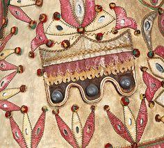 Jacket Date: Culture: Hungarian Medium: leather, mica, metal Art Costume, Folk Costume, Costumes, Costume Collection, Museum Collection, Leather Art, Leather Crafts, Jacket Images, Metropolitan Museum