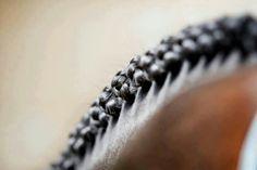 Perfect dressage braids