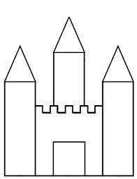 """Résultat de recherche d'images pour """"GRAPHISME CHATEAU"""" Fairy Tale Theme, Fairy Tales, Chateau Fort Moyen Age, Colouring Pages, Coloring Books, Princess Nursery, Princess And The Pea, Château Fort, Fairytale Castle"""