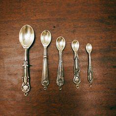 silver spoons via Things Organized Neatly