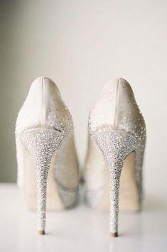 49aedd12296 Featured Photography  Caroline Tran Photography  Wedding shoes idea.   bridalshoes Wedding Shoes Bride
