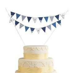 Nautical Wedding Cake Bunting  Party Tableware  Serveware -- See this great product.(This is an Amazon affiliate link and I receive a commission for the sales)