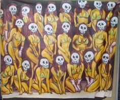 """Andrea Di Marco """"MarieRose"""" olio, 1998"""