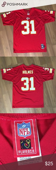 Priest Homes #31 Jersey - Kansa City Chiefs Kansas City Chiefs Jersey by Reebok - Priest Size XL excellent condition Reebok Other