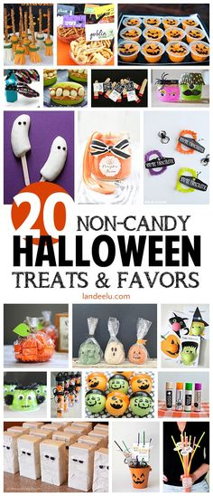 Non-Candy Halloween Treats and Party Favors | Landee See Landee Do | Bloglovin'